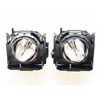 Replacement Lamp for PANASONIC PT-DW6300UK (TWIN PACK) with housing